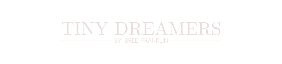 Tiny Dreamers by Bree Franklin | Sacramento Maternity, Newborn and Baby Photography logo