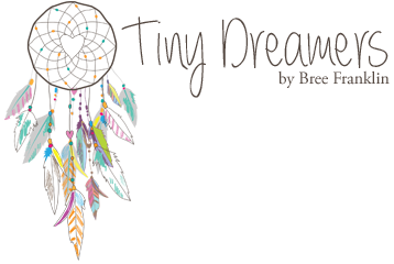 Tiny Dreamers by Bree Franklin   Sacramento Newborn, Maternity, Baby & Family Photography logo